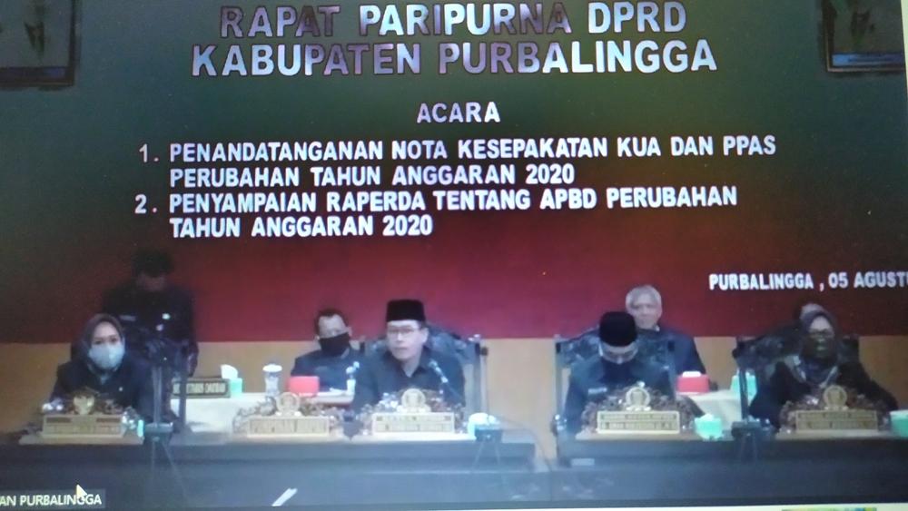 Photo of DPRD – Bupati Teken Nota Kesepakatan Kebijakan Umum Perubahan Anggaran 2020