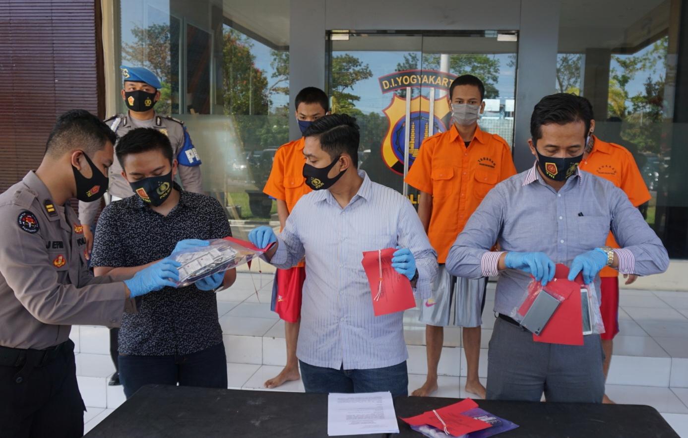 Photo of Dalam Sebulan, Empat Kasus Psikotropika Diungkap di Kulon Progo