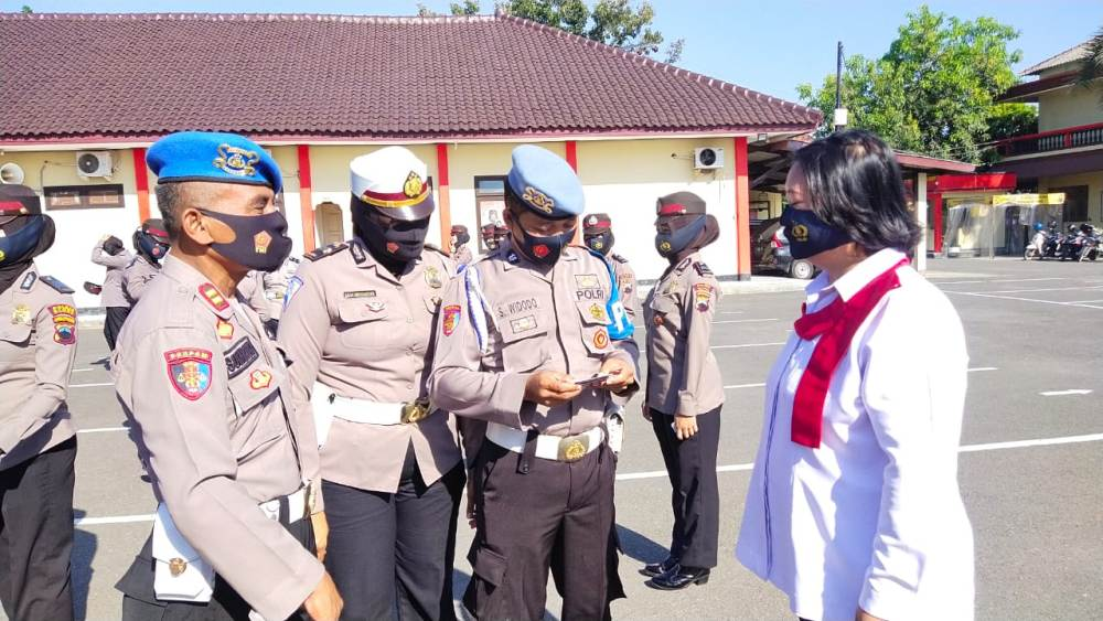 Photo of Polwan Polres Blora Jalani Pemeriksaan Disiplin
