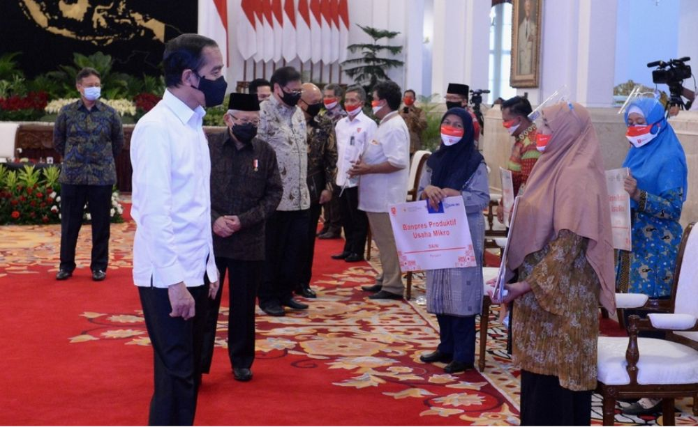 Photo of Presiden Jokowi Luncurkan Program Banpres Produktif