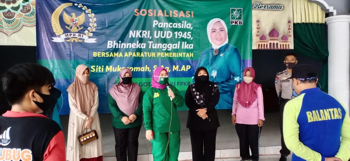 Photo of Siti Mukaromah, FPKB DPR RI, Sosialisasikan Empat Pilar Kebangsaan