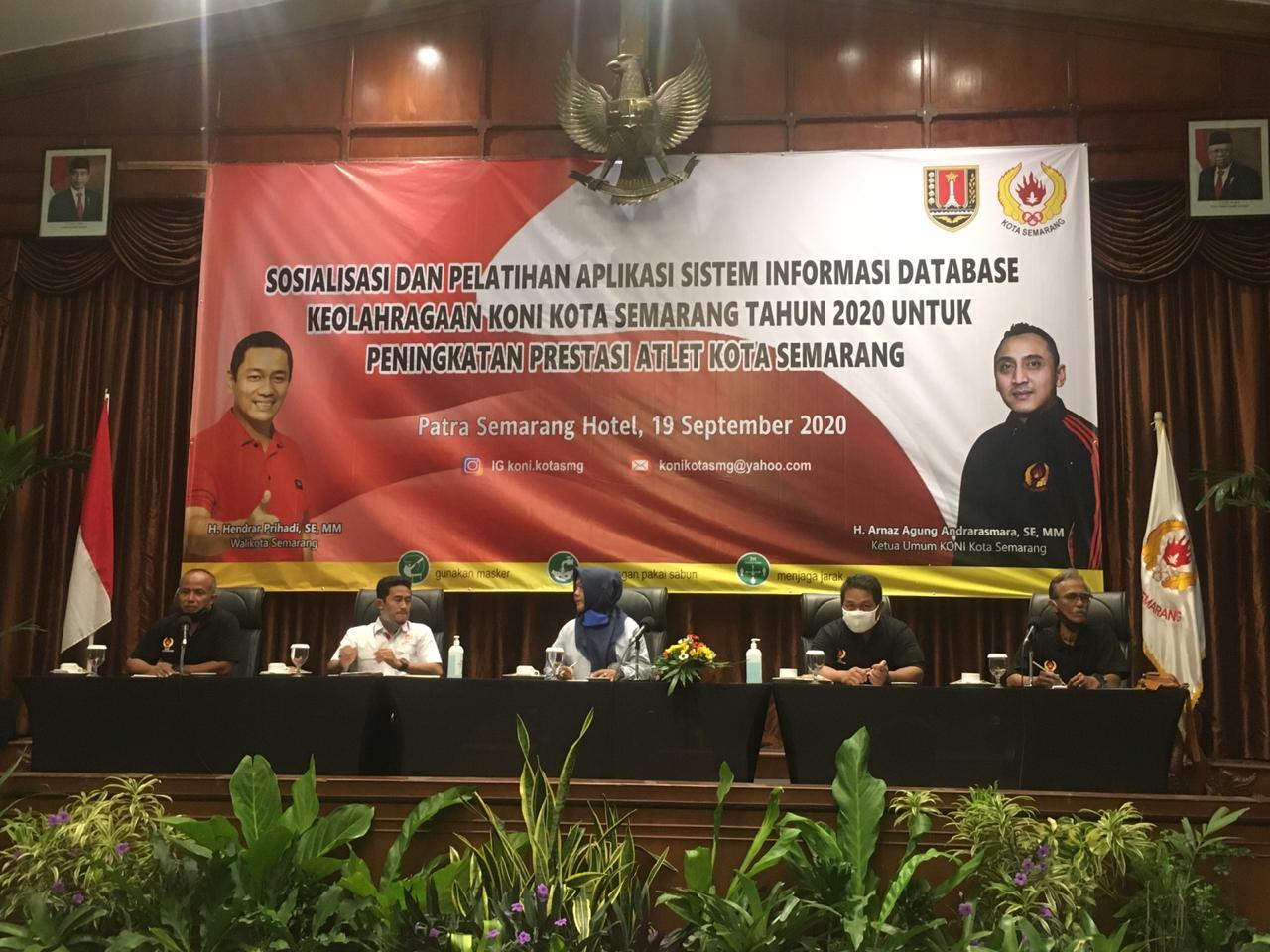 Photo of KONI Kota Semarang Luncurkan Aplikasi Sistem Informasi Data Base Keolahragaan