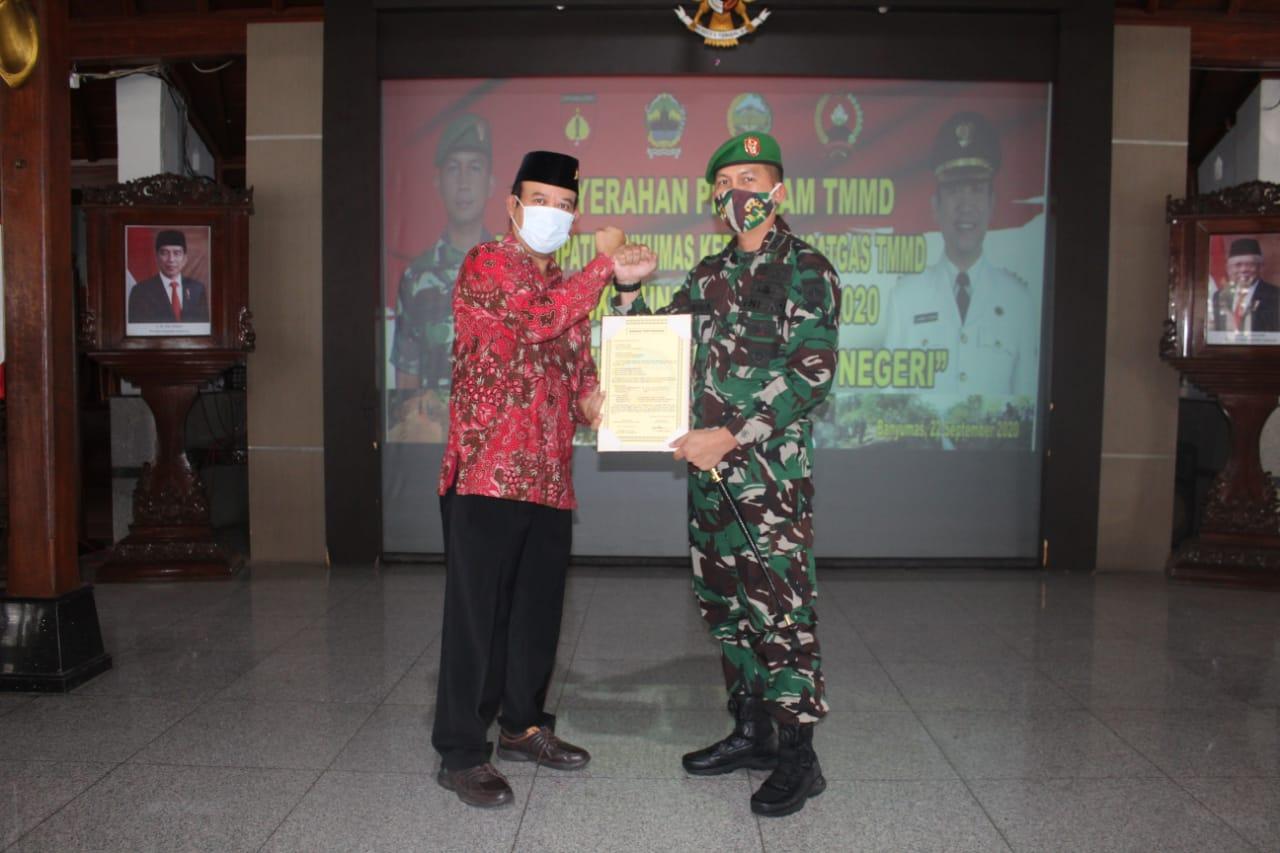 Photo of Pembukaan TMMD Sengkuyung III Kodim 0701/Banyumas Digelar  tanpa Upacara