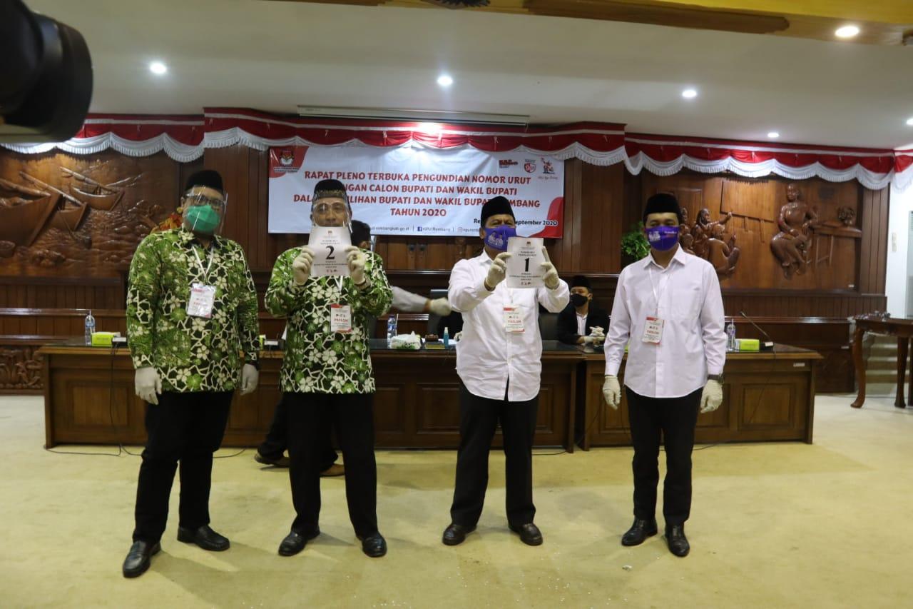 Photo of Pilkada Rembang, Harno-Bayu No 1, Hafidz-Hanies No 2