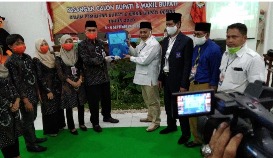 Photo of Paslon Mugi – Hebad Daftar Ke KPU