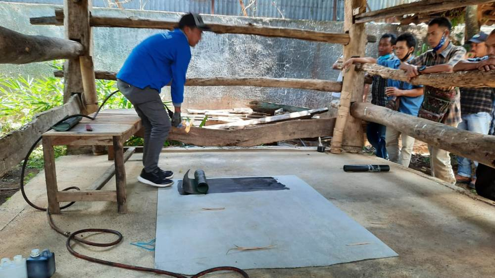 Photo of Pabrikan TBM Kenalkan Produk Waterproofing Membrane Bakar Untuk Atasi Kebocoran