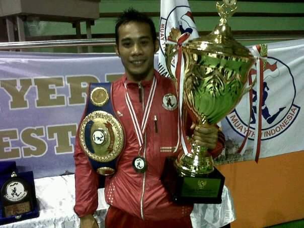 Photo of Yusuf Susilo, Banpol PP Salatiga Petarung Sejati Peraih Sabuk One Pride MMA TV-One