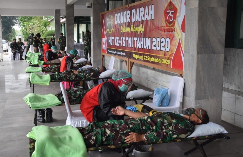 Photo of Donor Darah Wujud Kepedulian Akmil Pada Masyarakat