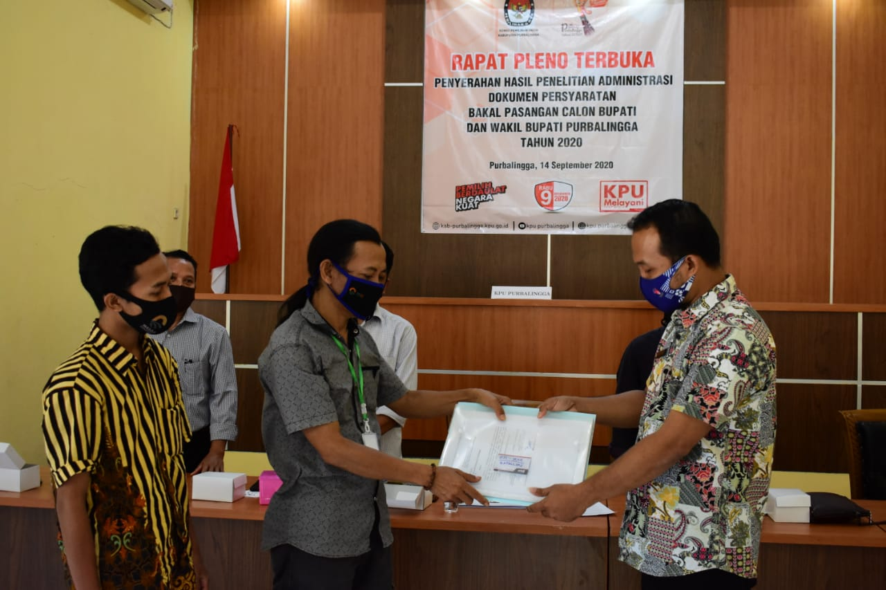 Photo of KPU Purbalingga Nyatakan Bakal Calon Bupati dan Wakil Bupati Memenuhi Syarat