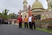Photo of Jalan Menuju Monumen Dr Sulistiyo Kini Sudah Mulus