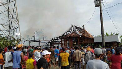 Photo of Lupa Matikan Kompor, Rumah Penjual Gorengan Ludes Dilalap Api