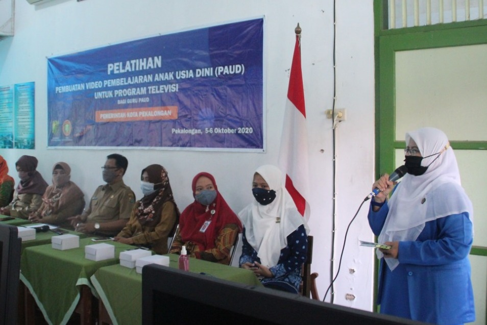 Photo of Pemkot Pekalongan Latih 150 Guru Paud Bikin Video Pembelajaran Jarak Jauh
