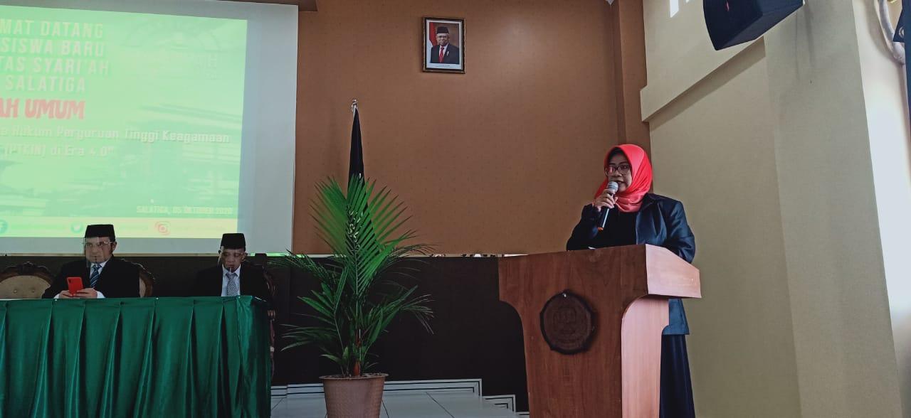 Photo of Dekan Fakultas Syariah IAIN Salatiga : Mahasiswa Harus Memiliki Jiwa Enterpreneur