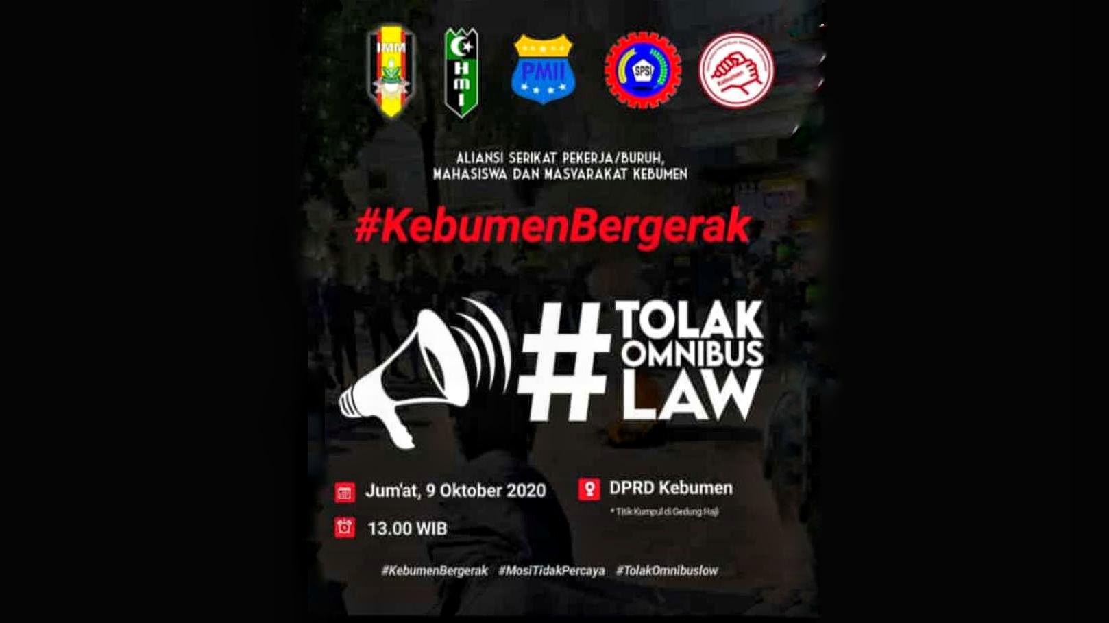 Photo of Sejumlah Organisasi Kemahasiswaan Berencana Demo Menolak UU Cipta Kerja