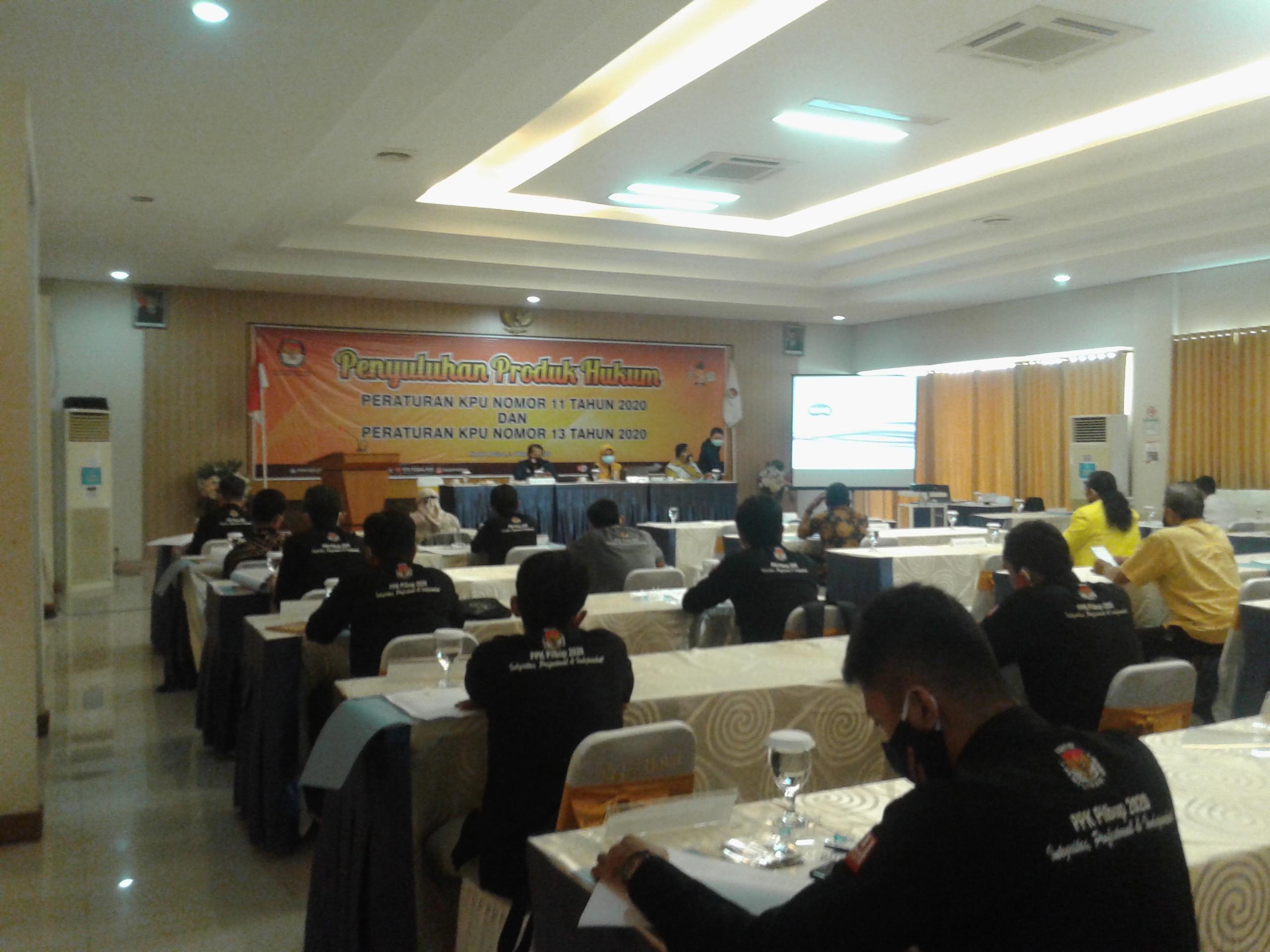 Photo of KPU Pemalang : Paslon Hanya Boleh Punya 20 Akun Medsos