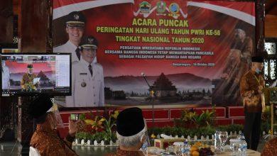 Photo of Meriah, Puncak HUT PWRI Tingkat Nasional di Banjarnegara