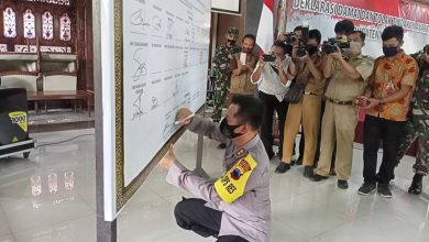 Photo of Deklarasikan Aksi Damai, Bentuk Pendewasaan Masyarakat Menyampaikan Pendapat