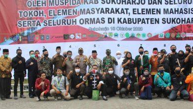 Photo of Demo Berujung Ricuh, Elemen di Sukoharjo Deklarasi Tolak Anarkis