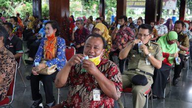 Photo of Naik Pangkat, PNS Banjarnegara Minum Susu Bareng