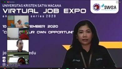 Photo of 40 Perusahaan Buka Lowongan di UKSW Virtual Job Expo 2020