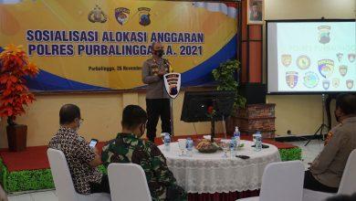 Photo of Wujud Transparansi, Polres Purbalingga Sosialisasikan Anggaran Tahun 2021