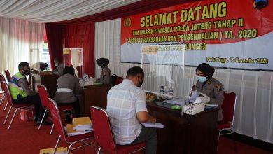 Photo of Terima Tim Wasrik, Polres Purbalingga Terapkan Protokol Kesehatan Saat Pemeriksaan