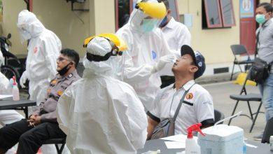 Photo of Siap Amankan Pilkada, Polres Rembang Gelar Swab untuk Anggotanya