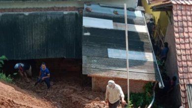 Photo of Bencana Tanah Bergerak, Tiga Rumah Rusak, Puluhan Terancam