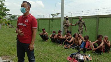 Photo of Belasan Anak Punk Digaruk Satpol PP Rembang.