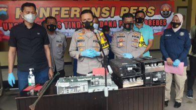 Photo of 6 Pelaku Pembobol Mesin ATM Bank Jateng Diringkus, 2 Buron