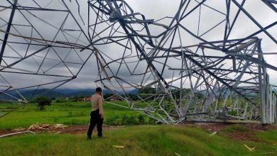 Photo of Tower SUTET PLN Roboh, Dua Petani Terluka