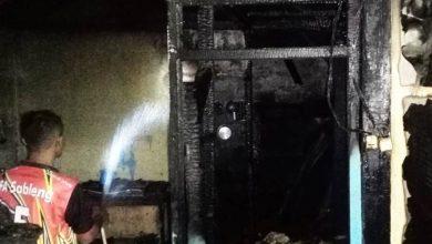 Photo of Ditinggal Kondangan,  Rumah Dilalap Api