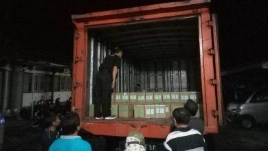 Photo of Dikawal Polisi, Surat Suara Pilkada Purbalingga Tiba di Gudang KPU