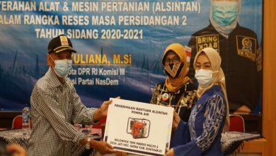 Photo of Dorong Produksi Petani, Anggota DPR RI Beri Bantuan Alsinta