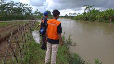 Photo of Seorang Warga Terseret Arus Sungai di Sumpiuh Banyumas