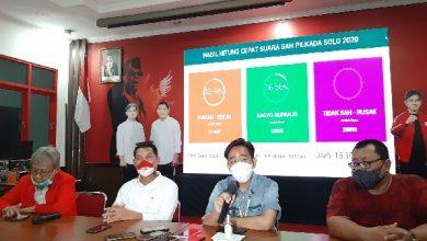 Photo of Menang Pilkada Solo Versi Hitung Cepat PDIP, Gibran : Yang Penting Pilwakot Aman