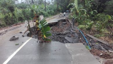 Photo of Jalan Amblas, Jalur Penghubung Antar Kecamatan Putus
