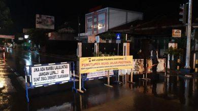 Photo of Dukung PPKM Sejumlah, Sejumlah Ruas Jalan di Kota Purwokerto Ditutup
