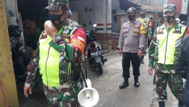 Photo of Bawa Pengeras Suara, TNI Polri Blora Imbau Prokes