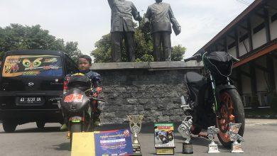 Photo of Pembalap Cilik Asal Sragen Sukses Juarai Ajang Mini GP