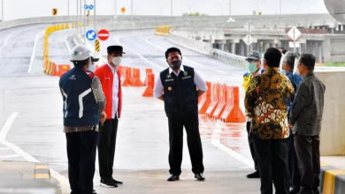Photo of Resmikan Ruas Tol di Sumsel Presiden: Bakauheni ke Palembang Kini Hanya 3,5 Jam Perjalanan