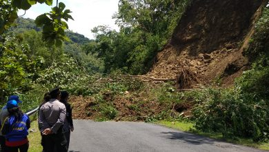 Photo of Retakan Tanah Dilalui Air, Tebing Setinggi 20 Meter di Kulon Progo Longsor