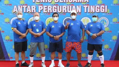 Photo of Lima Rektor PTN Ikuti Executive Tennis Cup