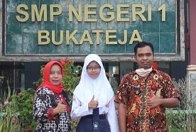 Photo of Putri Buruh Tani Asal Purbalingga Diterima di SMA Taruna Nusantara Jalur Beasiswa