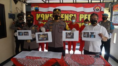 Photo of Polres Purbalingga Ungkap Empat Kasus Narkoba dan Bekuk Lima Tersangka