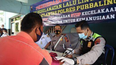 Photo of Satlantas Polres Purbalingga Gelar Pemeriksaan Kesehatan Gratis Bagi Awak Angkutan