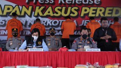 Photo of Terbesar dari Aceh, Polri Ungkap Peredaran Sabu 2,5 Ton Senilai Rp 1,2 Triliun