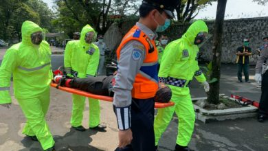 Photo of Tim Satgas Quick Response Satlantas Polres Sukoharjo Simulasi Penanganan Laka Lantas