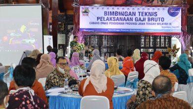Photo of Bank Jateng dan Dinas Pendidikan Provinsi Gelar Bimbingan Teknis Pelaksanaan Gaji Bruto
