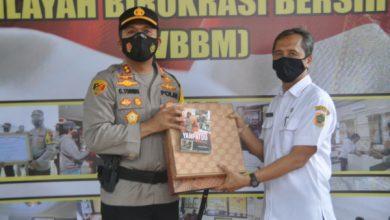 Photo of Akhiri Masa Jabatan, Kapolres Wonogiri Luncurkan Buku Yanpatdu